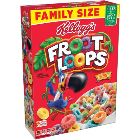 Froot Loops Breakfast Cereal - 19.4oz - Kelloggs