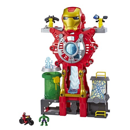 Playskool Heroes Marvel Super Hero Adventures Iron Man - Goth Superhero