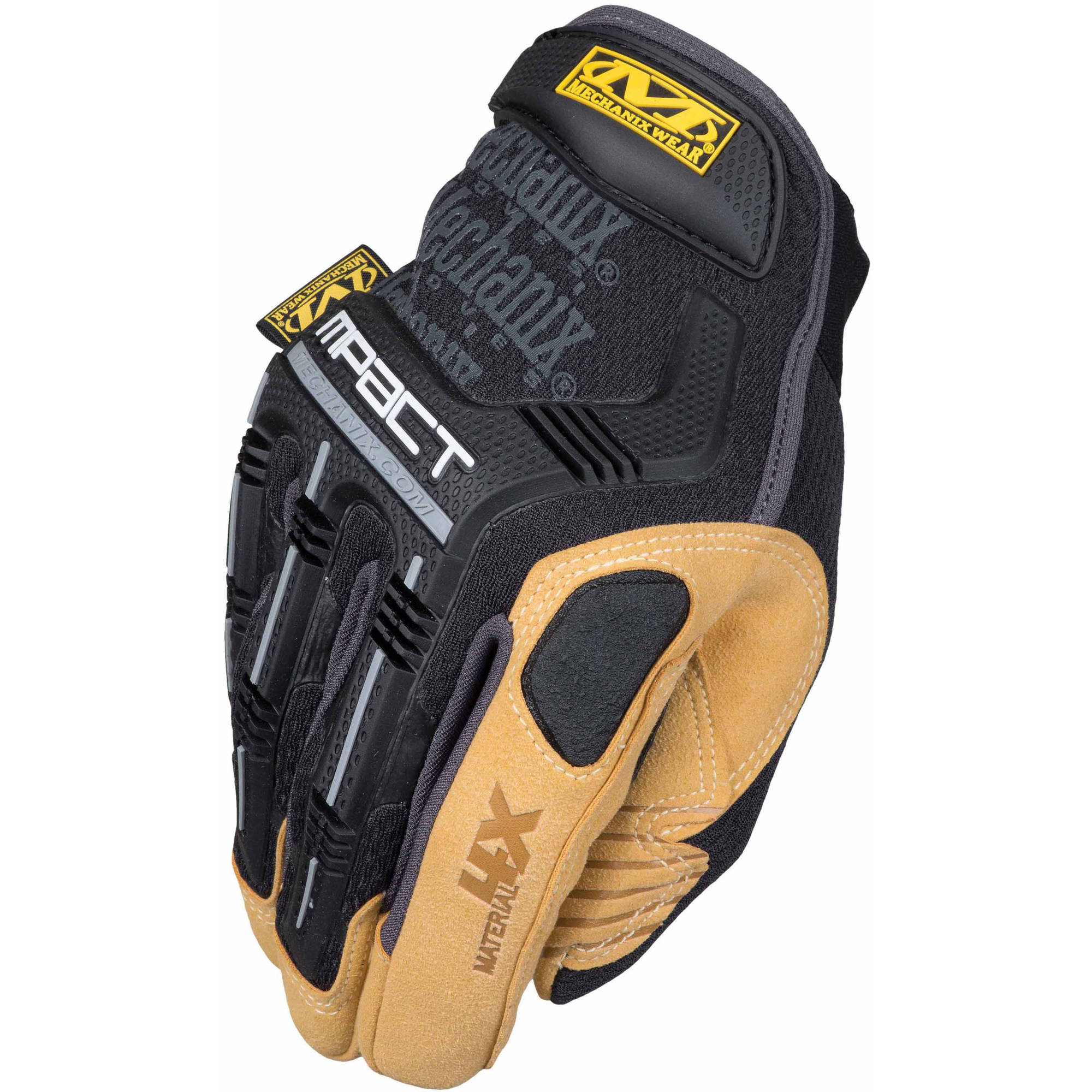 Mechanix Wear Material 4X Mpact Glove, Tan, Small