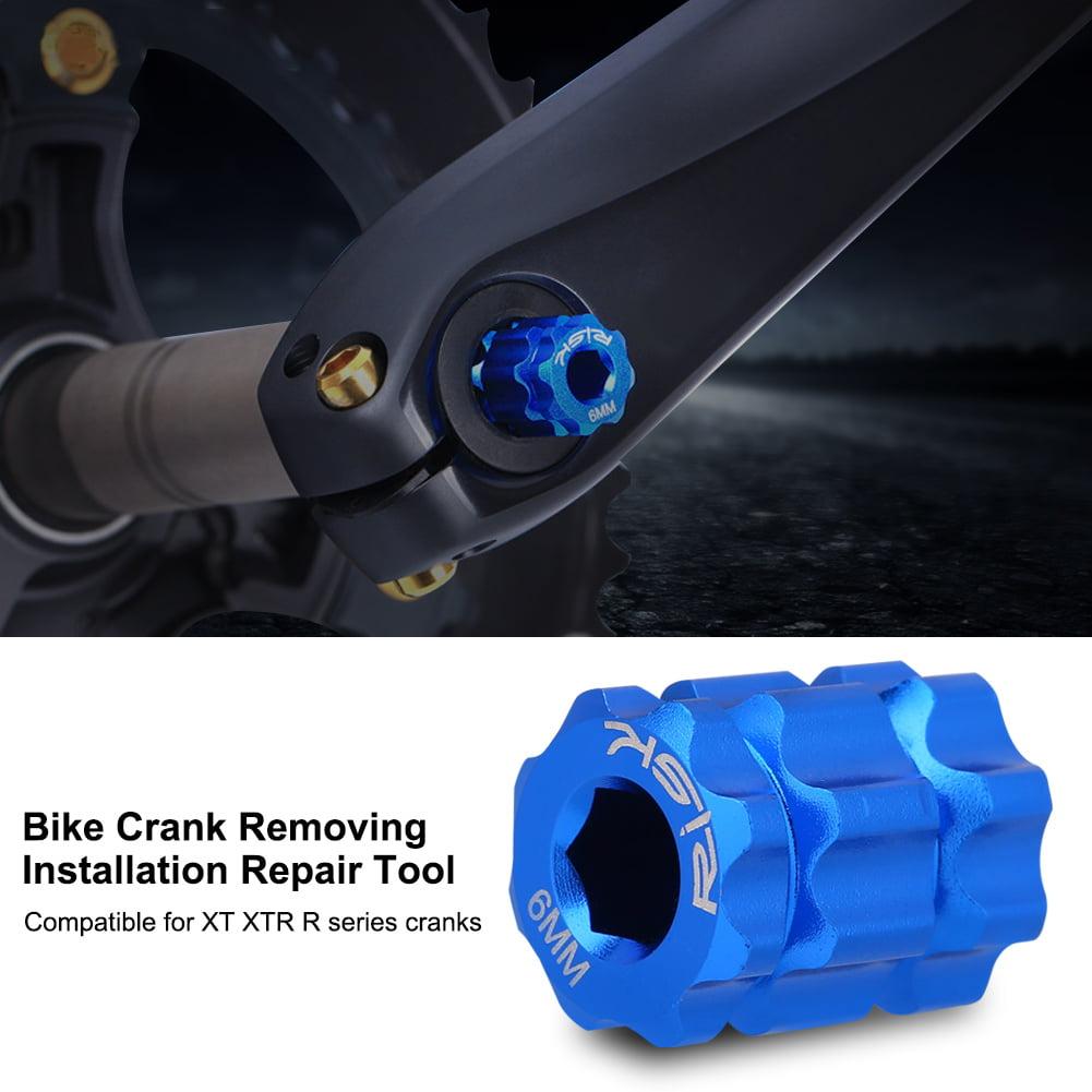 Bicycle Crank Removal Installation Tool,Mountain Road Bike Crank Repair Tool for Shimano HollowTech XT XTR Repair Tools