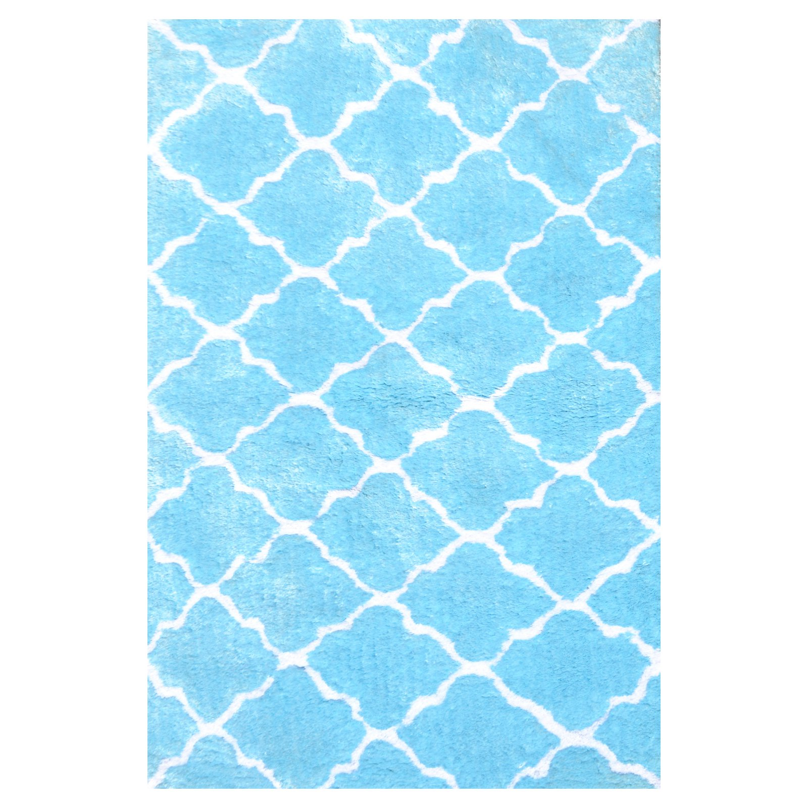 The Rug Market Couture Blue Area Rug, Size 2.8' x 4.8'