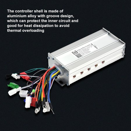 Scooter Motor Controller, 36V/48V 1000W Brushless Motor Sine Wave  Controller for Electric Bicycle Scooter