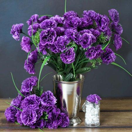 efavormart 252 mini artificial carnations wedding flowers sale 15 colors. Black Bedroom Furniture Sets. Home Design Ideas