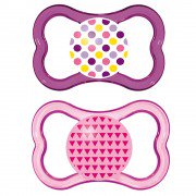 MAM Air Orthodontic Pacifier 6+ Months, 2-Count