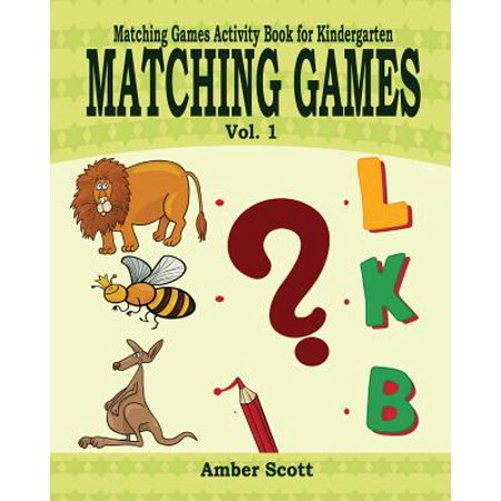 Matching Games ( Matching Games Activity Books for Kindergarten) - Vol. 1](Halloween Art Activities For Kindergarten)