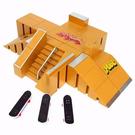 For Tech Deck Fingerboard Finger Board Skate Parks Ramp Parts 92A Kids Children Christmas Birthday Gift - image 1 de 7