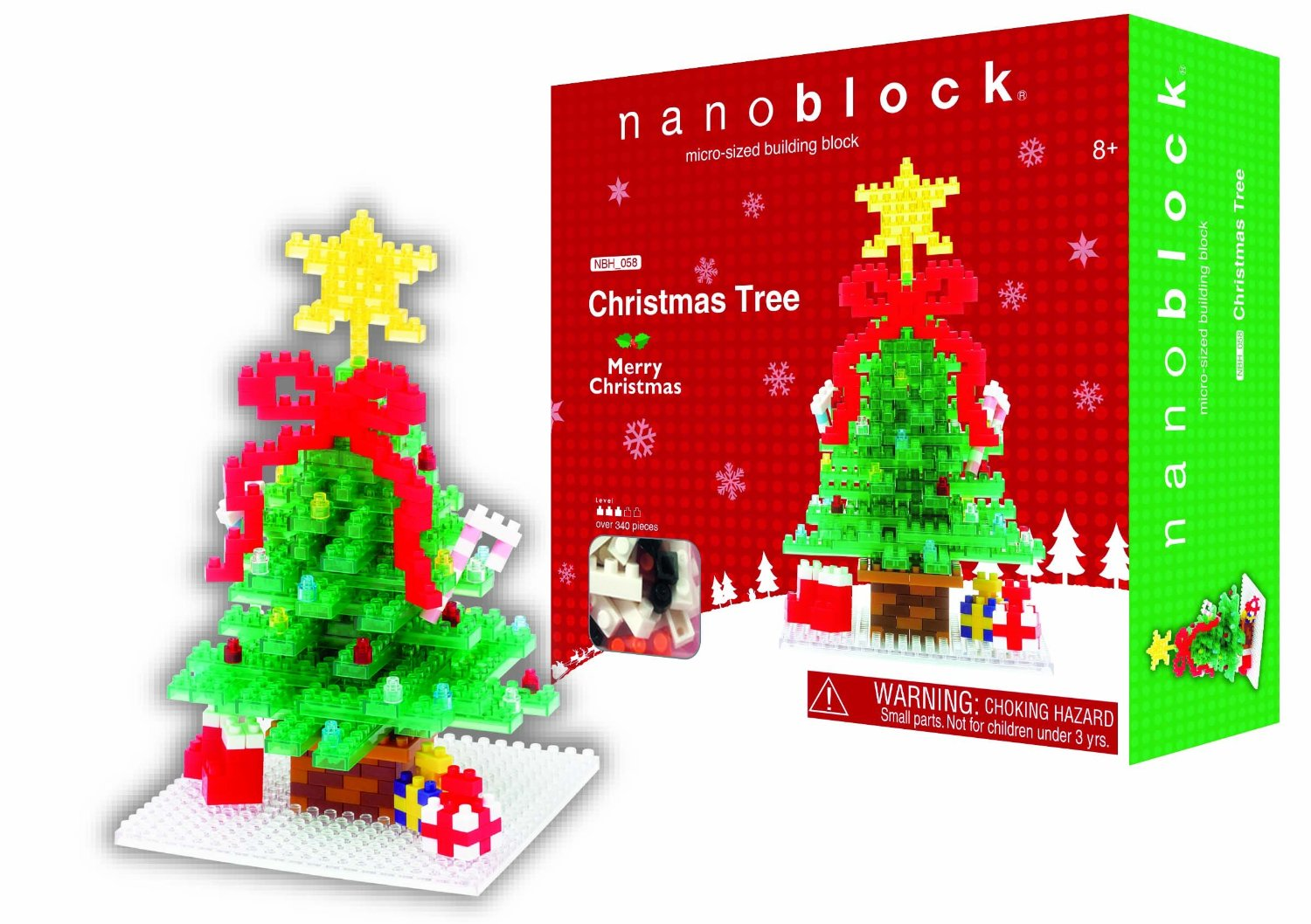 Nanoblock Christmas Tree by Schylling