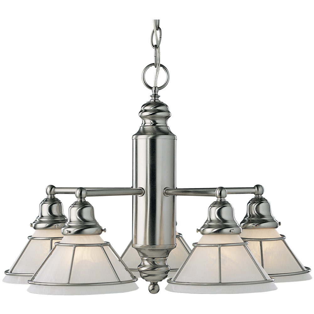 Dolan Designs 625 5-Light Down Lighting Chandelier from the Craftsman Collection