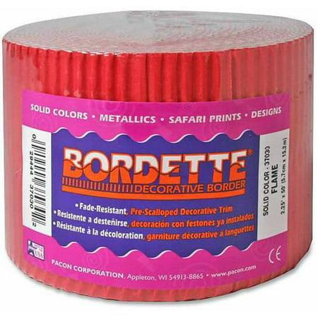 Pacon Bordette Designs (Pacon Bordette Scalloped Decorative)