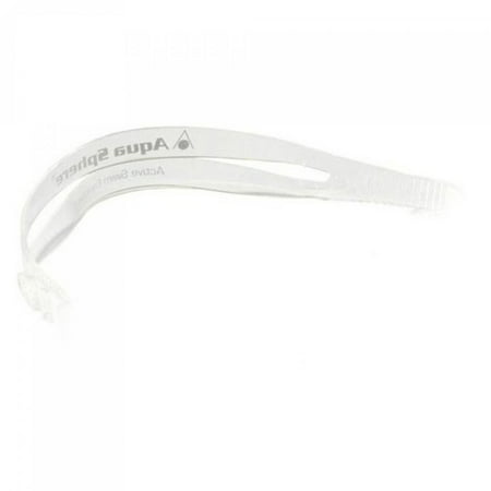 Kaiman Replacement Strap - Clear, no strap holder, 1/2 Width By Aqua Sphere