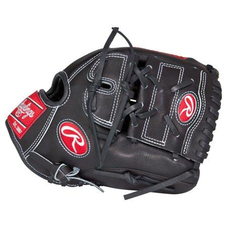 Louisville Infield Glove - Rawlings Heart of the Hide 12 Inch Infield 2 Piece Adult Baseball Glove, Black