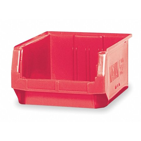 - Quantum Storage Systems Hopper Bin, Red, 7-7/8