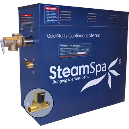 Steam Spa 10.5 kW QuickStart Steam Bath Generator with Built-in Auto