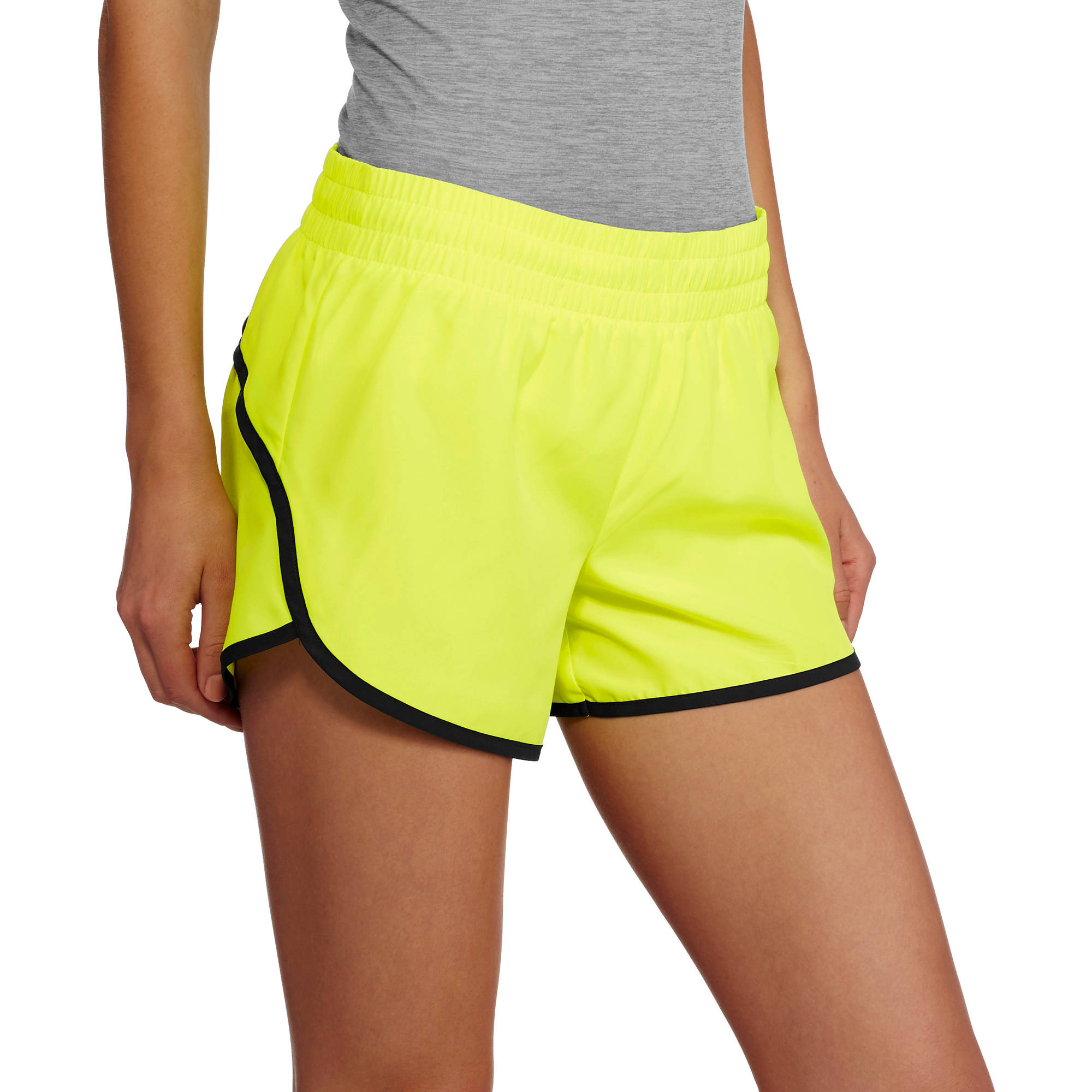 Danskin Now Women's Woven Running Shorts With Built-In Liner