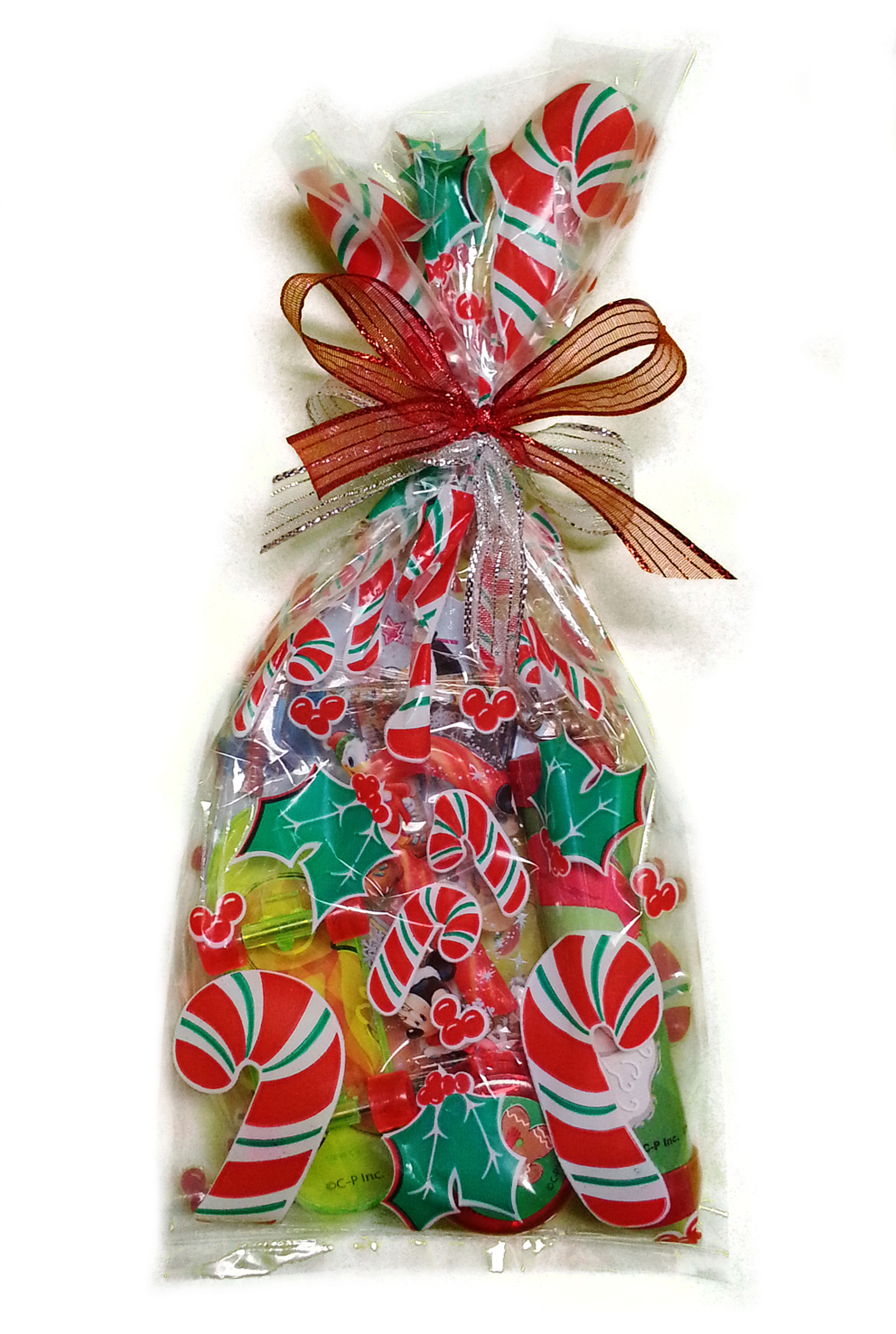25 Red Jewel Swirls Cello Bags 3.5x2x7.5 Holiday Candy Gifts Wedding Favors USA