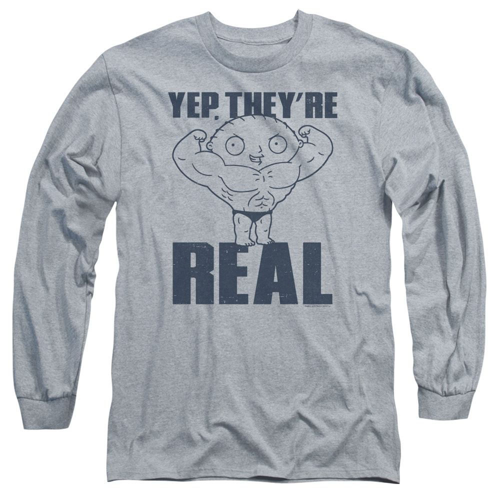 Family Guy Real Build Long Sleeve Shirt Adult