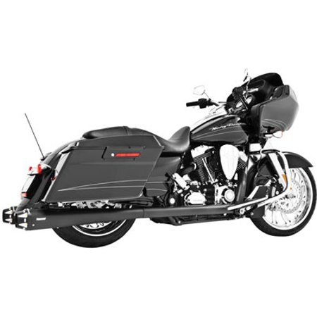 FREEDOM OUTLAW DUAL SYS BLK BAGGER Harley-Davidson FLHX Street Glide 2009-2015