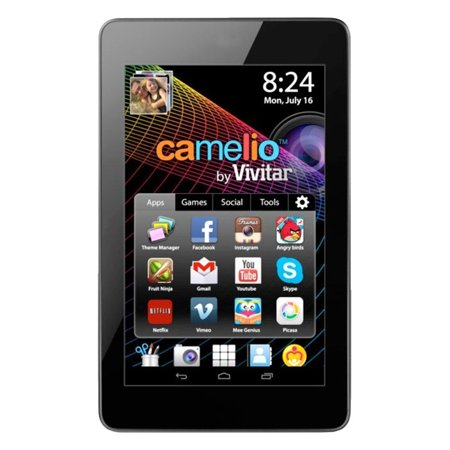 "Sakar Camelio 2 7"" Tablet - Tablet - Android 4.3 - Google Play - Preloaded Games - HD Video - Built in WiFi - Educatio"