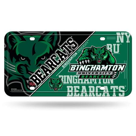 Binghamton Bearcats NCAA 12x6 Auto Metal License Plate Tag CAR TRUCK