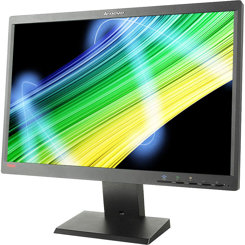 "Refurbished Lenovo L2250pwD 1680 x 1050 Resolution 22"" WideScreen LCD Flat Panel Computer Monitor Display"