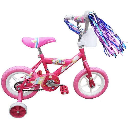 """12"""" Micargi Girls' BMX Bike, Pink"""