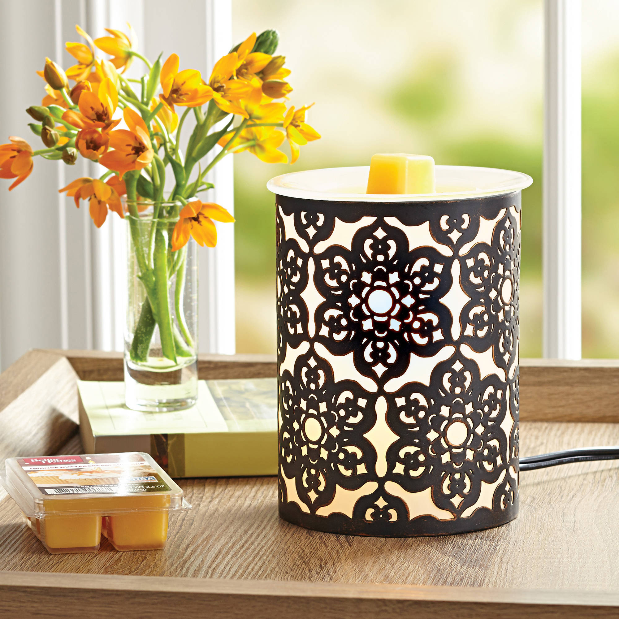 Better Homes and Gardens 4 Piece Wax Warmer Gift Set - Juliet, $29 Value