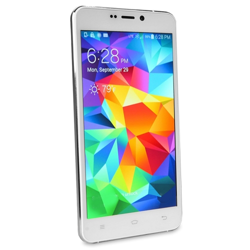 "D2 5"" 4G Quad Band 1GHz Quad Core 8GB Dual SIM Android Smartphone White - D503L"