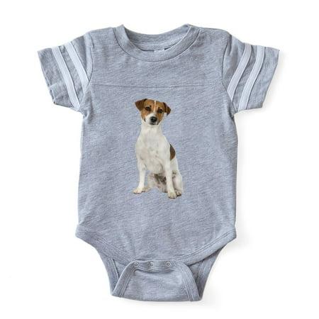 CafePress - Jack Russell Terrier - Cute Infant Baby Football Bodysuit