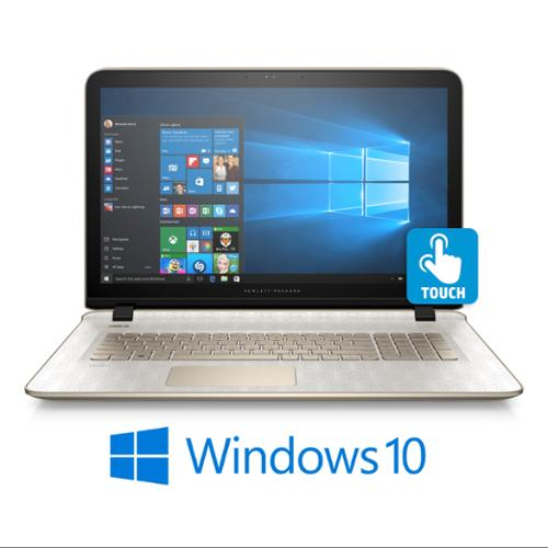 """Refurbished HP Pavilion 17-g153cy 17.3""""  Touch Notebook w/ 1 Yr Office 365"""
