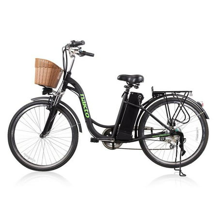 Nakto NAK-CAMFB 26 ft. Female Camel Cargo-Electric Bicycle 6 Speed E-Bike,
