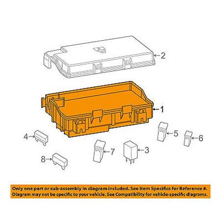 ram chrysler oem 2014 1500 3 0l v6 fuse box fuse relay. Black Bedroom Furniture Sets. Home Design Ideas