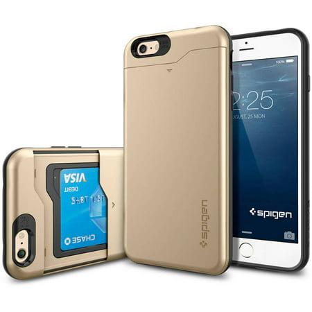 newest cfd69 cec28 Spigen Apple iPhone 6S Plus / 6 Plus Case Slim Armor CS (4.7)
