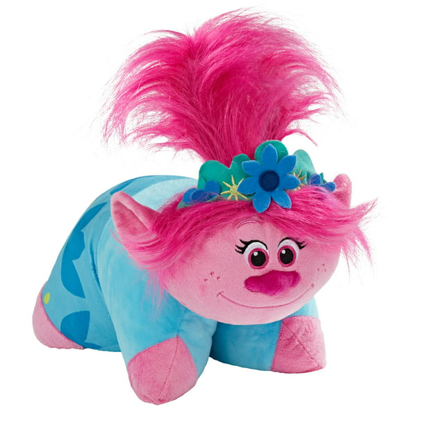 Pillow Pets DreamWorks Trolls World Tour Poppy Stuffed Animal Plush Toy