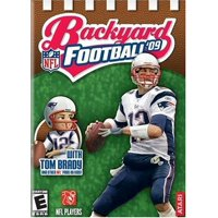 Backyard Football 09 for PS2 - With Tom Brady and other NFL Pros as Kids