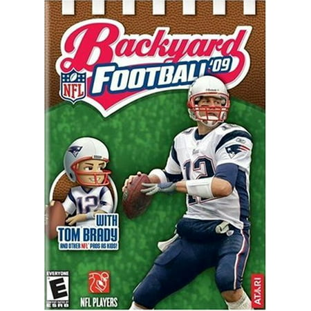 Backyard Football 09 for PS2 - With Tom Brady and other NFL Pros as