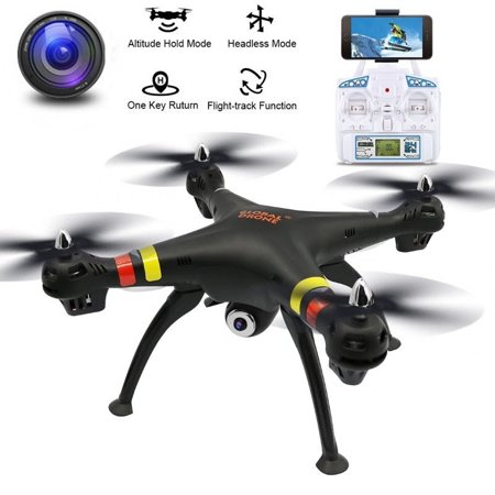 RC Drone Four Axis Quadcopter Flying Drone with Adjustable Wide-Angle 720P HD WIFI Camera UAV GPS FPV Return Home Altitude Hold