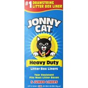 Heavy Duty Litter Box Liners, Jumbo, 5 Liners-Box, USA, Brand JONNY CAT