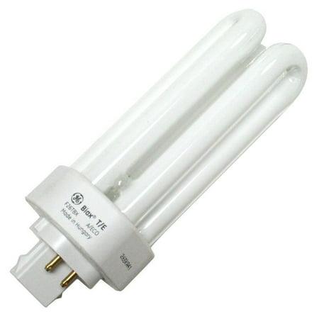 GE 97617 (10-Pack) F26TBX/841/A/ECO 26-Watt Ecolux Triple Tube Compact Fluorescent Light Bulb, 4100K, 1710 Lumens, T4 Shape, 82 CRI, 4-Pin GX24q-3 Base 42w T4 Gx24q 4 Base