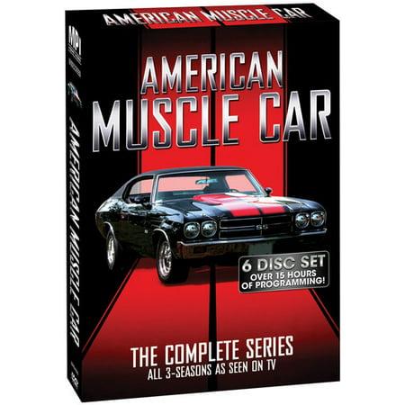 American Muscle Car: Season 1-3 (Best Muscle Building Dvds)
