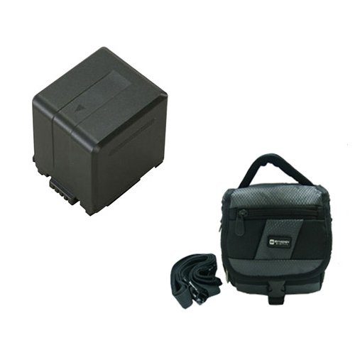 Panasonic HDC-TM700K Camcorder Accessory Kit includes: SDVWVBG260 Battery, SDC-27 Case