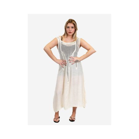 Zodaca Womens Summer Sleeveless Beach Cover Up Maxi Dress Long Sundress - Black - image 2 of 2