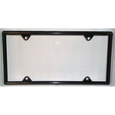 - Black Vinyl License Plate Frame Kit - 50 pack  Free Screw Caps with this Frame