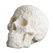 Tozai Home - Faux Marble Carved Skull