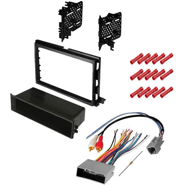 GSKIT1055 Car Stereo Installation Kit for 2013-2016 Ford Super Duty - in  Dash Mounting Kit, Wire Harness for Single or Double Din Radio Receivers -  Walmart.com - Walmart.com | Ford Stereo Wiring Harness Kits |  | Walmart