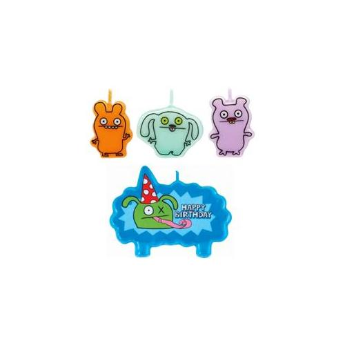 Amscan 209937 UGLYDOLL Mini Molded Cake Candles