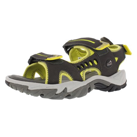 Pacific Mountain Osoyoos Women's Outdoor Comfort Sandal - Grey/Yellow