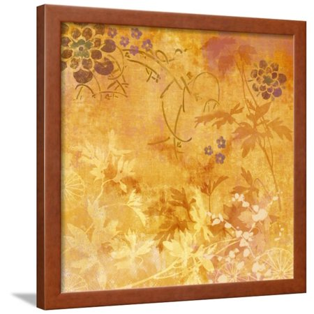 Ginger Fall II Framed Print Wall Art By Evelia Designs