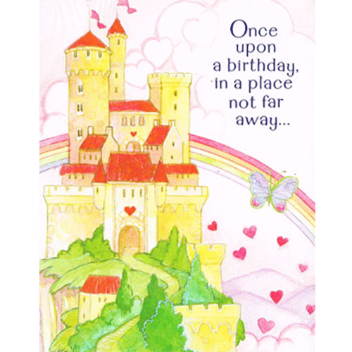 Princess 'Birthday Girl' Invitations w/ Envelopes (8ct)