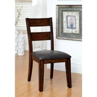 Furniture of America Arlen Dining Chair in Dark Cherry (Set of 2)