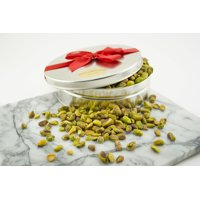 Salted Roasted and Salted California Pistachio Meats Gift Tin